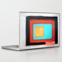 rothko Laptop & iPad Skins featuring Living Rothko by Heaven7