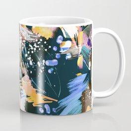 Vibrant watercolor abstract painting Coffee Mug