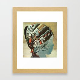 capillaries Framed Art Print