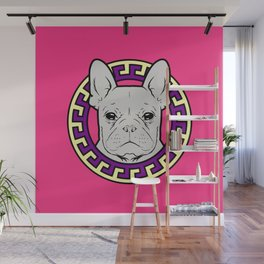 French Caviar - Lollipop Pink Wall Mural