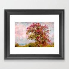 Romantic autumn Framed Art Print