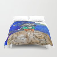 little prince Duvet Covers featuring Little Prince by gunberk