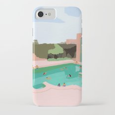 Backyard dip iPhone 7 Slim Case