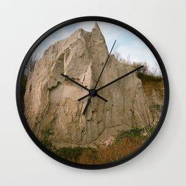 THE BLUFFS Wall Clock
