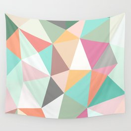 Ice Cream Tris Wall Tapestry