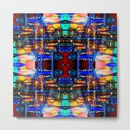 intermix node #3 Metal Print