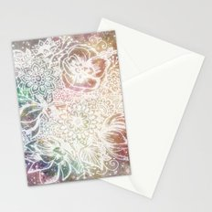 Astral Bloom Stationery Cards