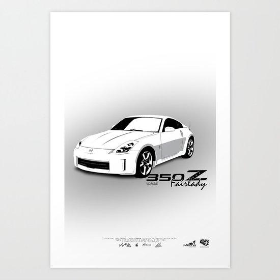 350Z Art Print