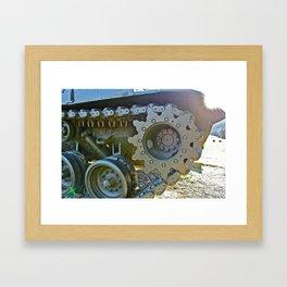 Tanker THREE Framed Art Print