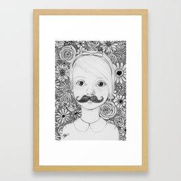 Portrait of Iris Framed Art Print