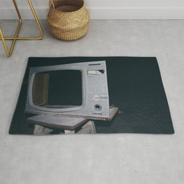 Television Rules The World Rug