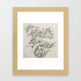 Slug Lord Framed Art Print
