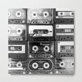 Something Nostalgic - black and white #decor #society6 #buyart Metal Print