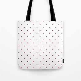 RedPolkaDots Tote Bag