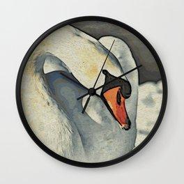 Mute Swan Contemporary Elegance Wall Clock