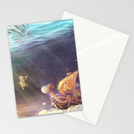 Ship of Pirates Stationery Cards