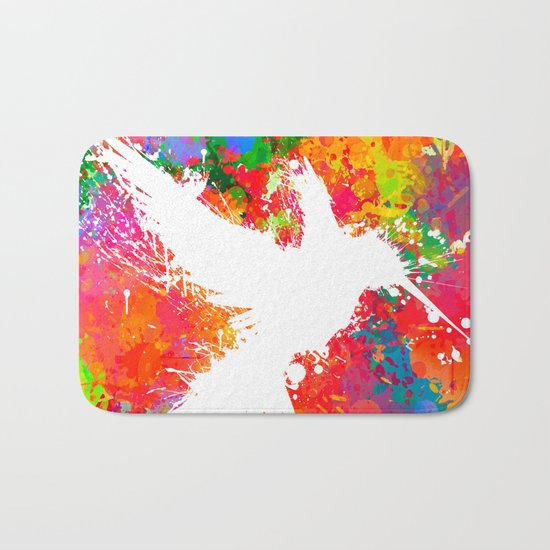 Hummingsplat - Colorless Bath Mat