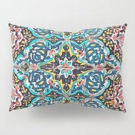 Traditional ceramic tile design Portugal Terrazzo Blobs Pillow Sham