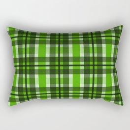 Break the Rules Green Rectangular Pillow