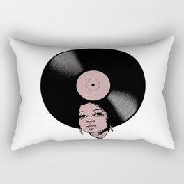 Afrovinyl (Vintage) Rectangular Pillow