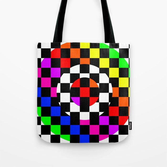 Triggle | Colorful Secret Geomoetry | Play Tote Bag