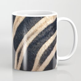 Zebra Stripes Closeup Coffee Mug