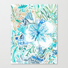 SMELLS LIKE BLUE NECTAR Canvas Print