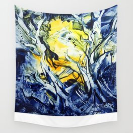 BlueHour Wall Tapestry