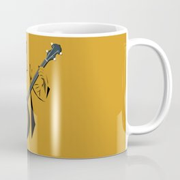 A Man Playing Banjo 1 Coffee Mug