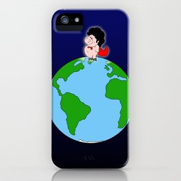 Taking over the world iPhone Case