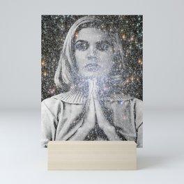 Sandra Dee Space Prayer Mini Art Print