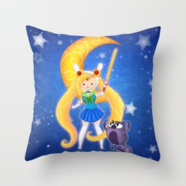 Sailor Fionna & Cake Throw Pillow