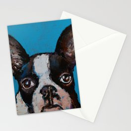 Boston Terrier Stationery Cards