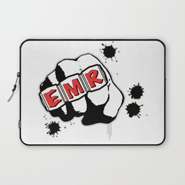 EMR Crew Tee Original Logo Tee Laptop Sleeve