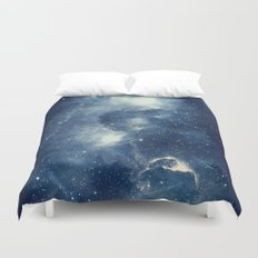 Galaxy Next Door Duvet Cover