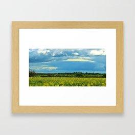 Missouri Storm 2 Framed Art Print