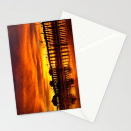 Orange County Sunset California Stationery Cards