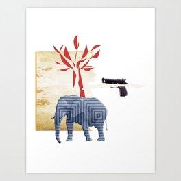 9 crimes Art Print