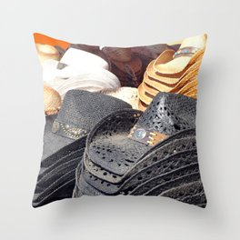 Cowboy Hats Throw Pillow