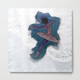 The Winter Dance Metal Print
