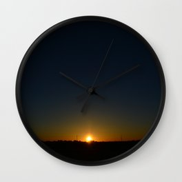 Phx Sunrise Wall Clock