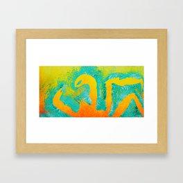 The King (Top) Framed Art Print