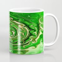 irish Mugs featuring Irish Green by Chris' Landscape Images & Designs