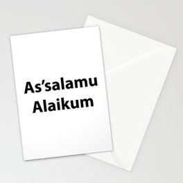 As'salamu Alaikum Stationery Cards