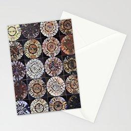 Tree Ring Mandala Stationery Cards