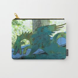 Le Dragon Vert - Luxembourg Carry-All Pouch