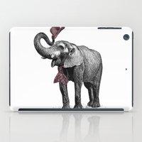 gentleman iPad Cases featuring Gentleman by sookkol