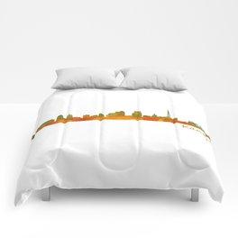 Kansas City Skyline Hq v1 Comforters