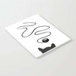 Playful Cat Notebook