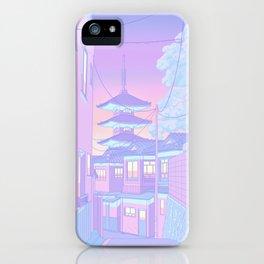 Pastel Memories iPhone Case